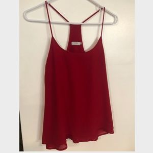 Tobi Racerback Red Tank Top